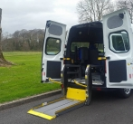 Ford Custom 3400kg Hi Roof Twin Sliding Door