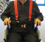 2 point Static Harness for Wheelchair User