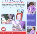 ANGEL GUARD SEAT BELT SAFETY GUARD