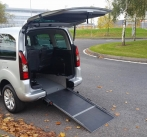 Peugeot Partner Tepee Wheelchair Accessible